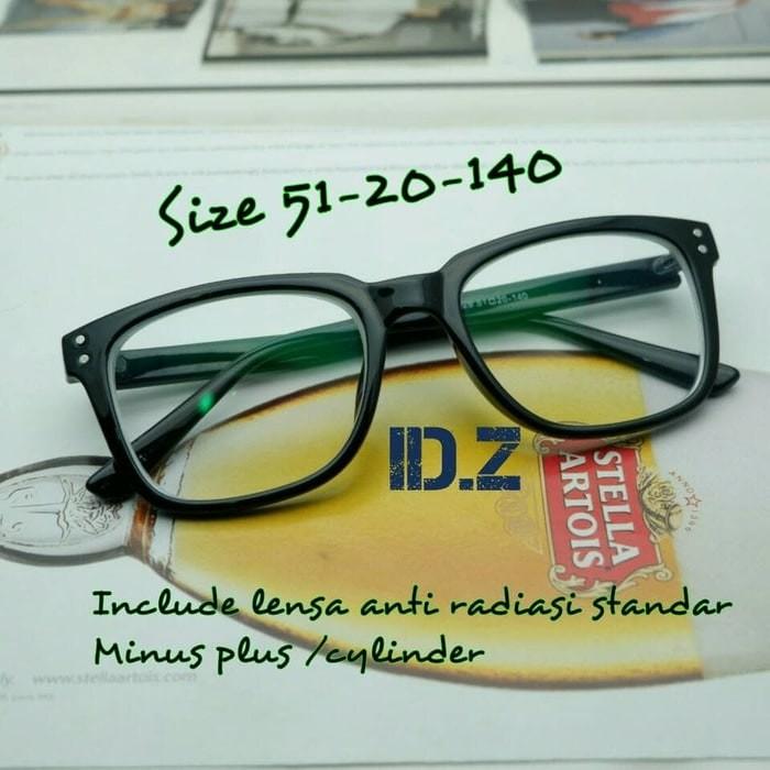 Kacamata Baca Lensa Plus Hitam 20 - Daftar Harga Terlengkap Indonesia 36856ed89e