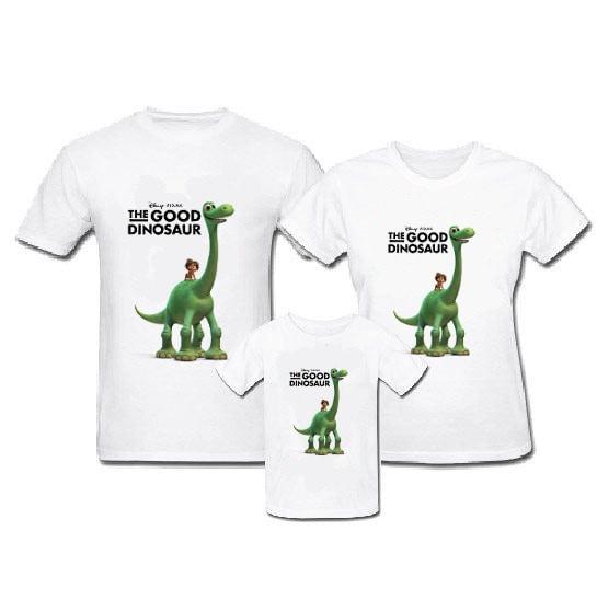 harga Kaos family - baju keluarga the good dinosaurus arlo and spot stand Tokopedia.com