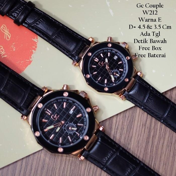 Foto Produk Jam Tangan Pria Wanita Pasangan Couple GC Arisca Warna Lengkap dari Az Zahrra watch