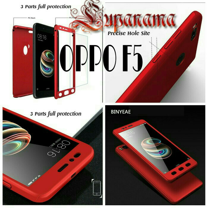 uk availability 16965 1cdfa Jual Case Ipaky 360 Oppo F5 Full Body Cover HardCase Casing skin oppo f5 -  Kota Bekasi - Pandawa Acc | Tokopedia