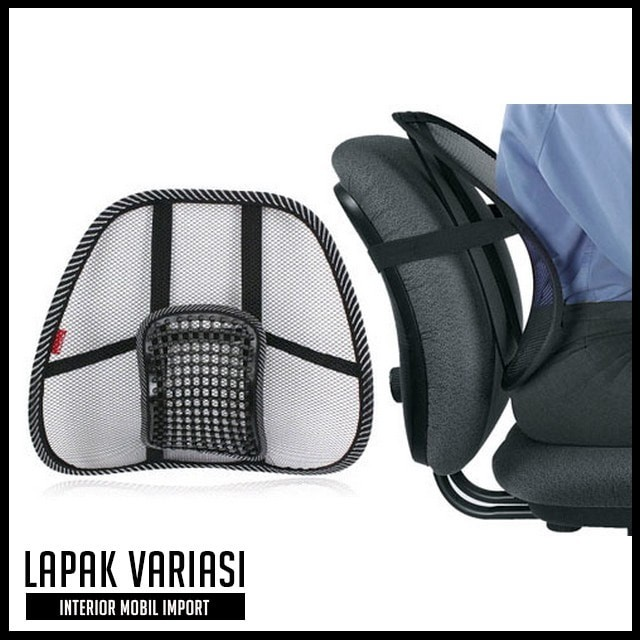 Bantal mobil untuk pinggang - penyangga sandaran punggung jok kursi
