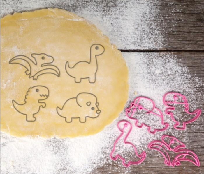 harga Dinosaur set 4 pcs cookie cutter / cetakan kue kering & fondant Tokopedia.com