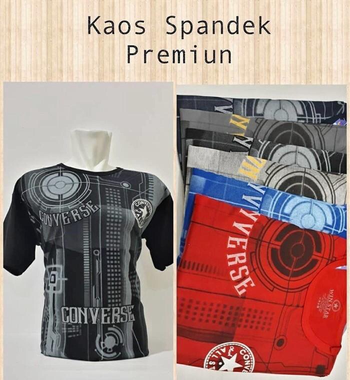 harga Kaos Baju Oblong Branded Unisex Cowok Cewek Converse Tokopedia.com