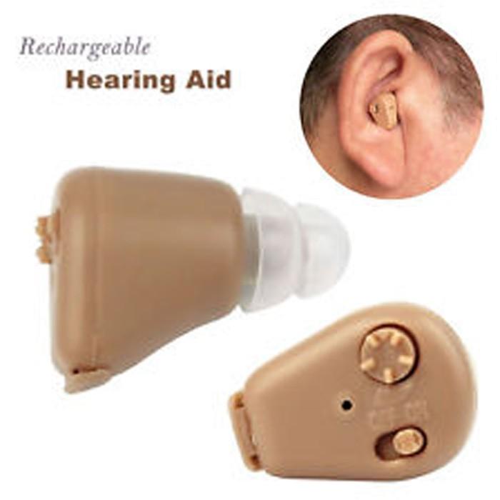 Cas Alat Bantu Dengar Pendengaran Telinga Dicas - Tanpa Ganti Baterai