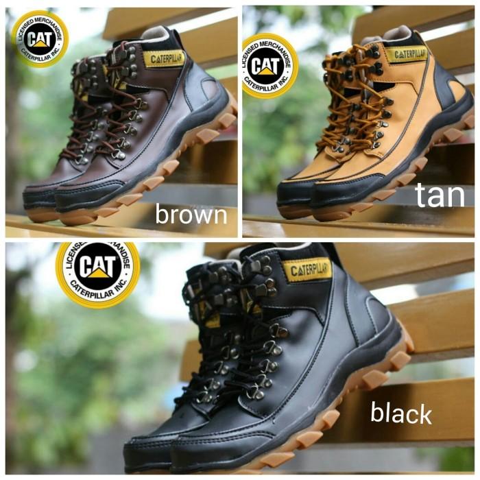 Jual sepatu boot caterpillar mbc safety terbaru sol karet asli tidak ... 1e4e17d796