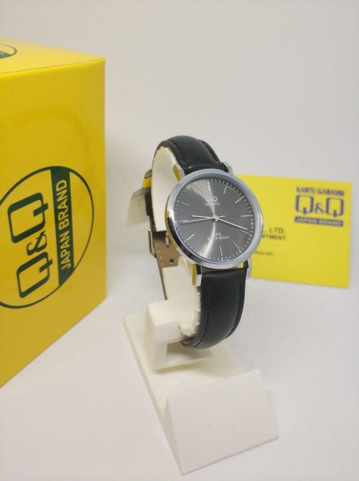 harga Q&q qq model dw jam tangan wanita kulit hitam qz03j302y original Tokopedia.com
