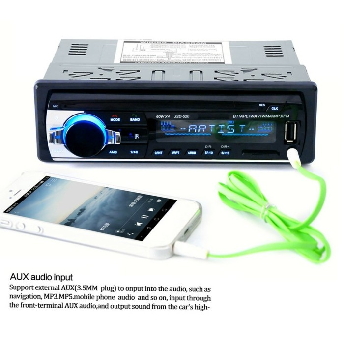 harga Head unit single din mp3 bluetooth Tokopedia.com