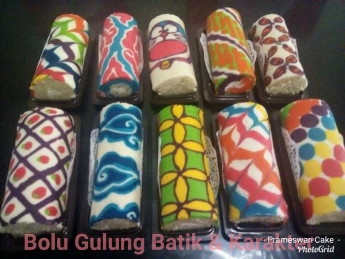 Jual Bolu Gulung Batik Karakter Kab Bogor Prameswari Cake Tokopedia