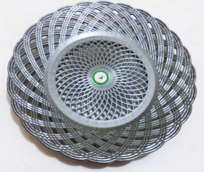 Jual Grosir Piring Lidi Plastik Anyaman Rotan Bambu Atom