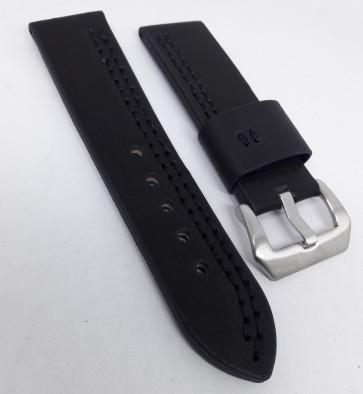 harga Strap / kulit / tali jam tangan panerai leather asli 22 / 24 mm black Tokopedia.com