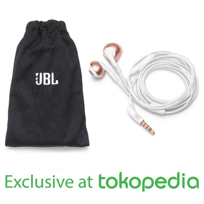 Foto Produk JBL T205 Earphone - RoseGold - Exclusive Tokopedia dari JBL Official Store