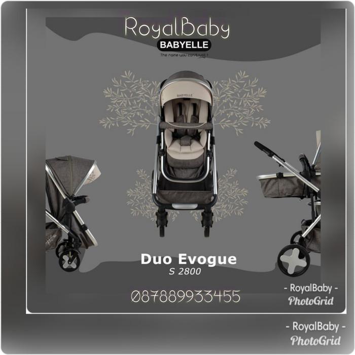 harga Stroller bayi kembar dorongan babyi kembar babyelle duo evogue Tokopedia.com