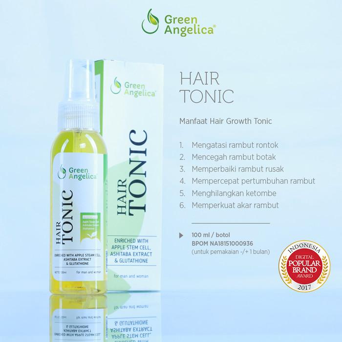 harga Green angelica hair growth tonic accelerator Tokopedia.com