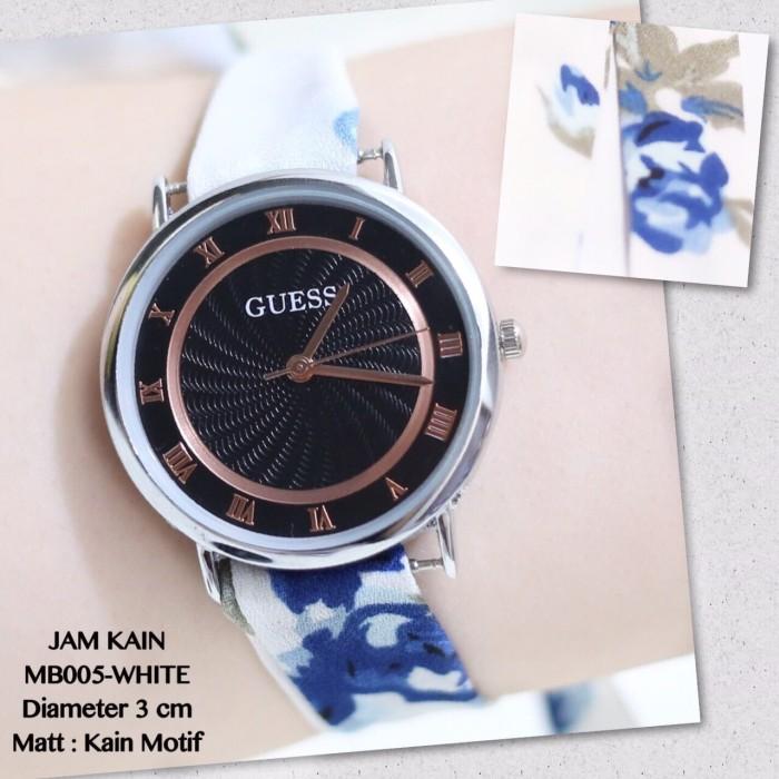 harga Grosir jam tangan wanita cewek monol guess tali kain feminim murah  new Tokopedia.com 78fc4d9e4c