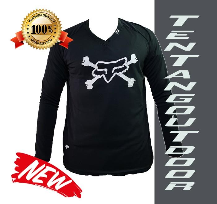 harga Premium jersey downhill cross fox  sepeda baju kaos f017 mtb motor Tokopedia.com
