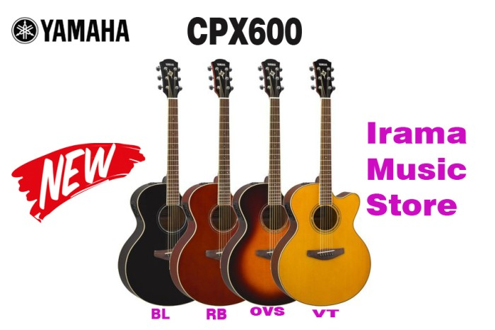Harga Gitar Akustik Elektrik Yamaha Cpx600 Cpx 600 Penerus Cpx500 500 Tokopedia