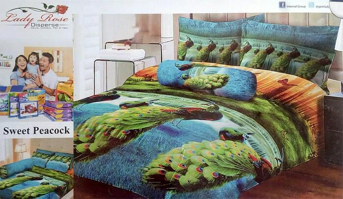 harga Bedcover kucing 180x200 lady rose / bed cover kucing anggora no.1 Tokopedia.com