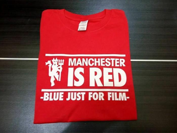 e9f989265 ... harga Kaos tshirt baju combed 30s distro manchester is red mu united  jersey Tokopedia.com
