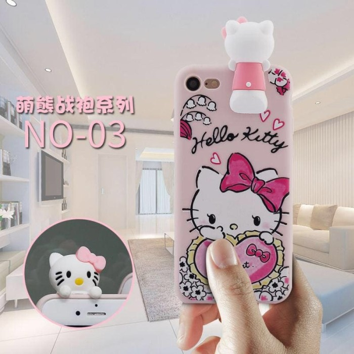 Harga Iphone 6 Plus 3d Hello Kitty Peek A Boo Soft Silicone Cover Case