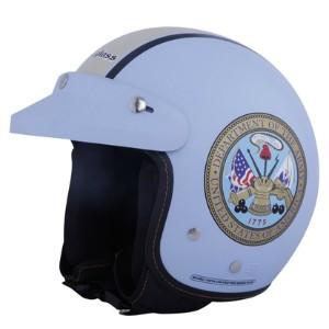 Helm cargloss cf retro departement light blue