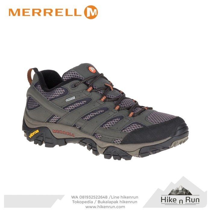 harga Sepatu hiking merrell moab 2 gtx beluga j06039 ukuran 43 Tokopedia.com