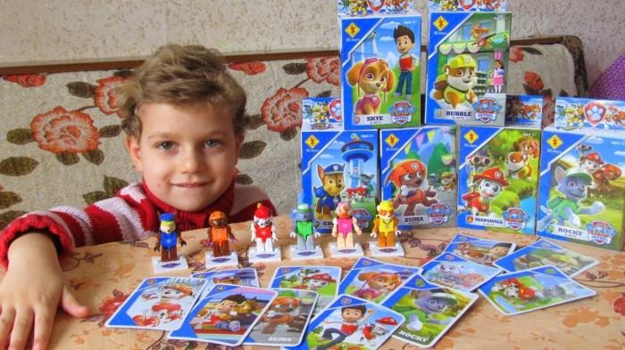 SL Toys SL 8919 Lego MiniFigure Paw Patrol ( 2 in 1 ) @ 6 pcs