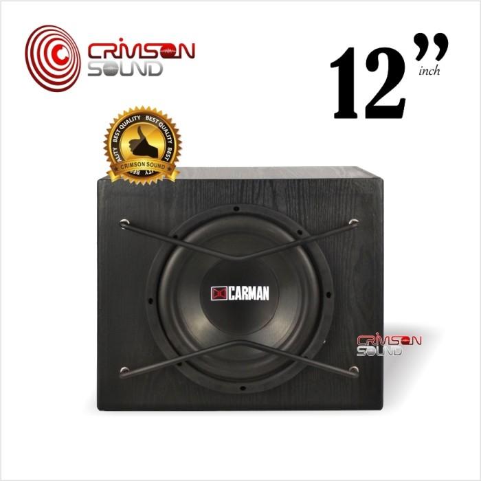 harga Subwoofer aktif 12 inch bassbox carman cm-1211 Tokopedia.com