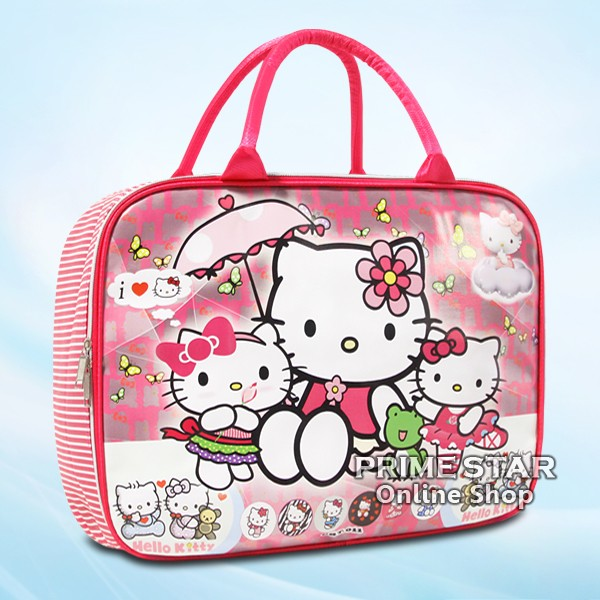 Tas koper travel bag anak karakter hello kitty 38-01