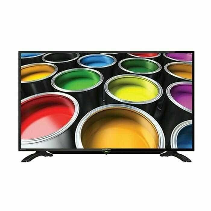 Sharp led tv 40in 40le185 + usb movie - promo (gojek only)