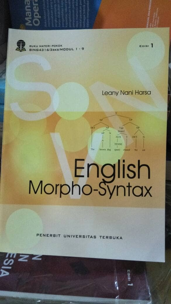 harga English morpho... syntax... leany nani.. 2017. ori Tokopedia.com