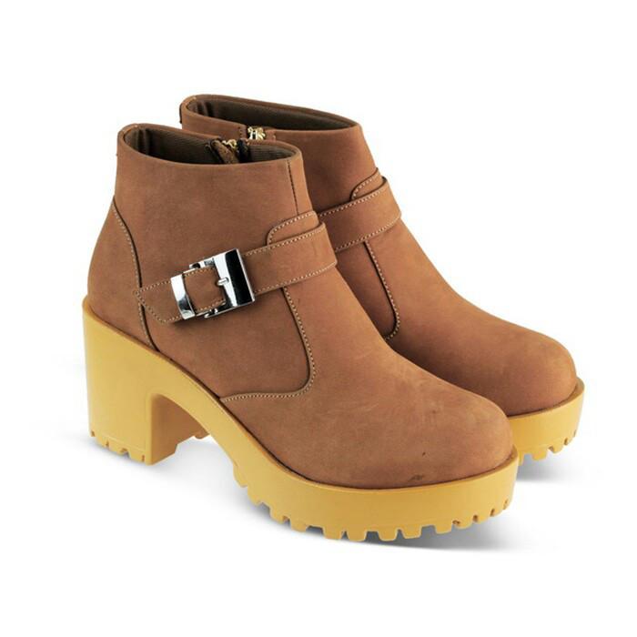 Jual Sepatu Boots Wanita Trendy JK Collection JAK 5315 - One Catenzo ... b9ee044398