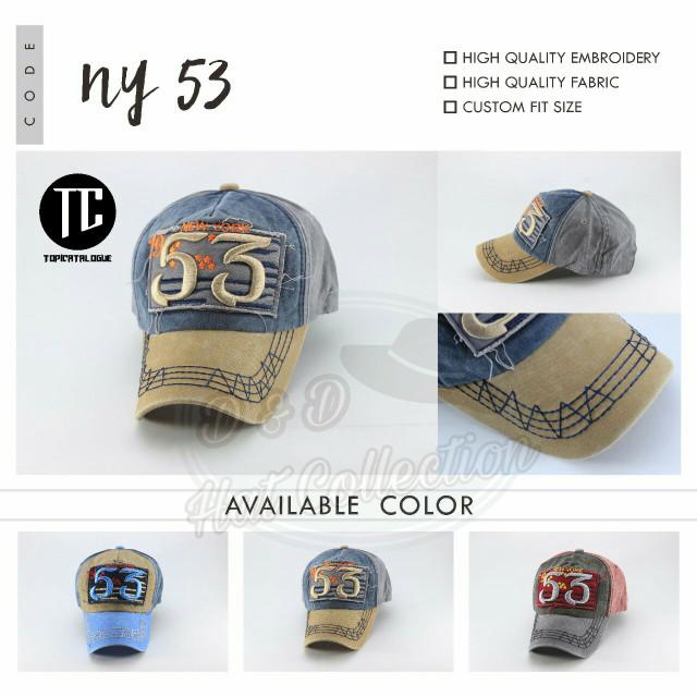 Jual Topi Baseball Import New York NY 53   Topi Distro - D   D Hat ... 0228912e20