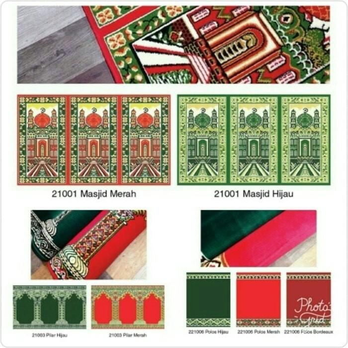 Karpet masjid 105x570 cm - karpet masjid medeena Roll - Sajadah masjid