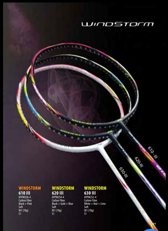 harga Original lining windstorm 610 iii / 620 iii / 630 iii raket badminton Tokopedia.com