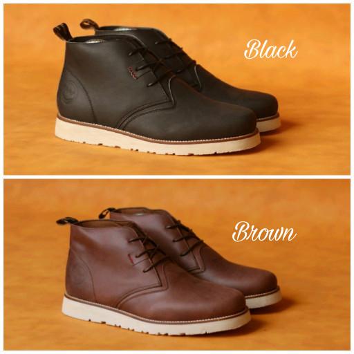 Jual sepatu boot pria bradleys masimo original kulit super kasual ... b4ab2559de