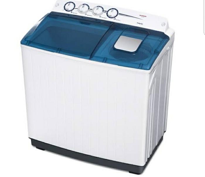 harga Mesin cuci sanken tw 1555 14kg baru garansi resmi Tokopedia.com