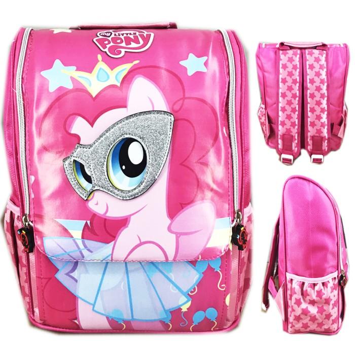 harga Tas ransel sekolah anak tk pony pinkie pie full motif jepang pink Tokopedia.com