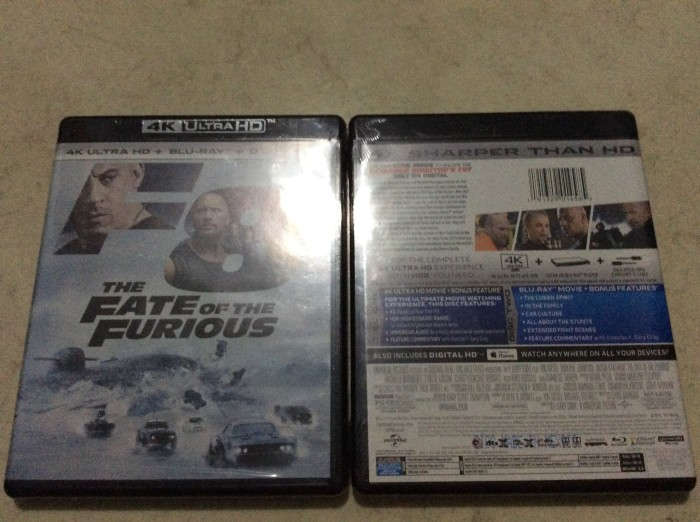 harga The fate of the furious Tokopedia.com