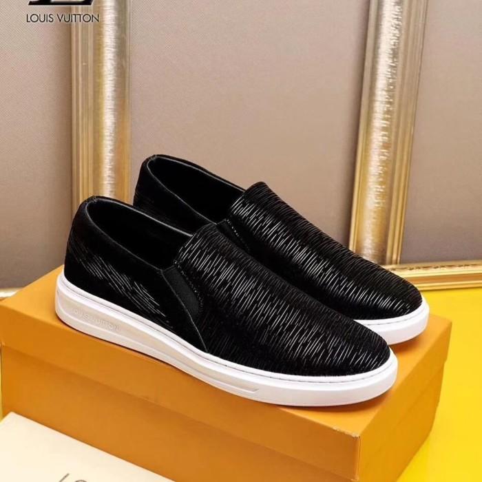 Jual Jual sepatu loafer pria cowok mirror quality lv louis vuitton ... 50727ee4c8