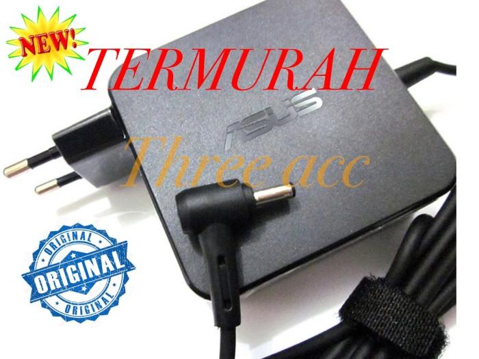 Foto Produk adaptor charger casan laptop asus X455L X450 X450C X451C X450L ORI dari Three Acc