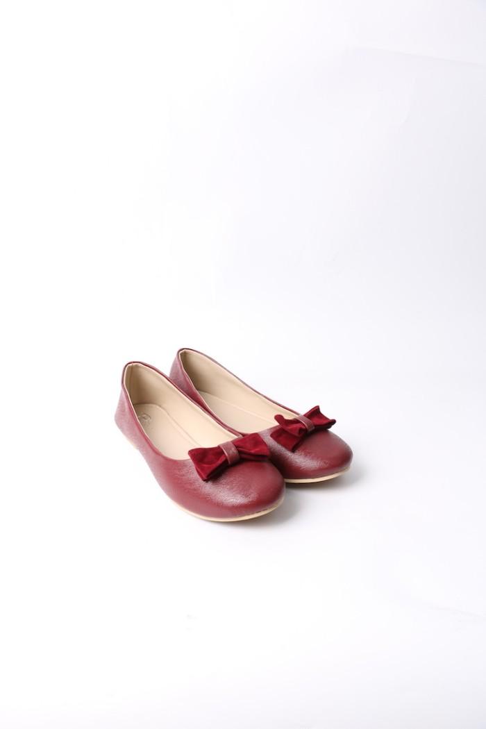 Foto Produk Blow Flat Shoes BG 07 Maroon Sepatu Wanita dari Supertu