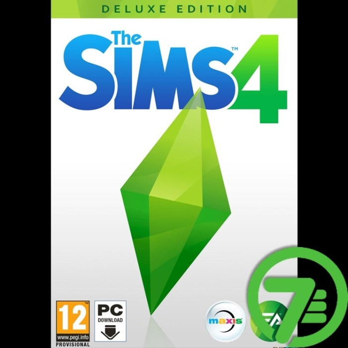 harga The sims 4 deluxe edition + all dlc & add-ons (new version) - game pc Tokopedia.com
