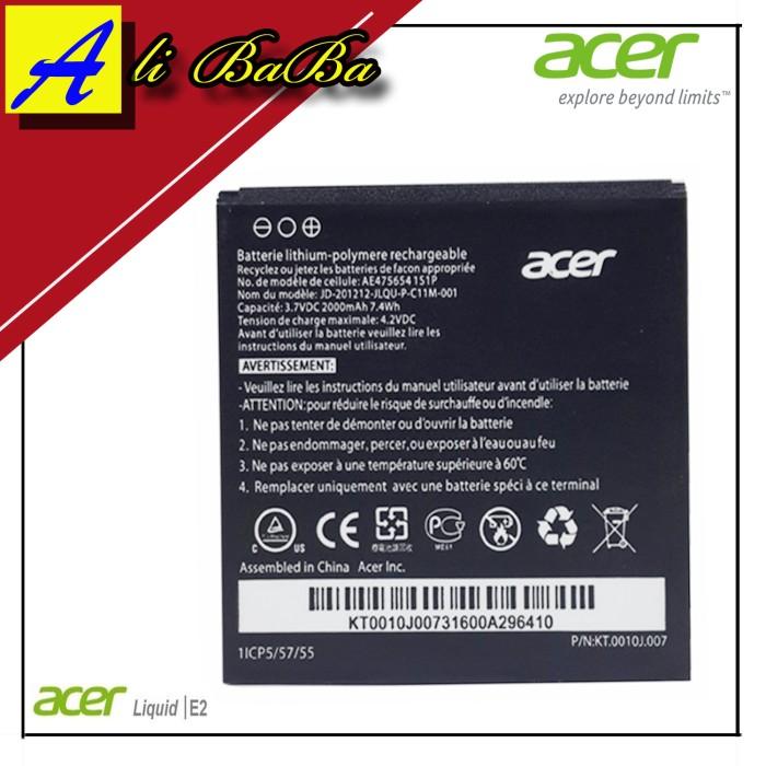 harga Baterai handphone acer liquid e2 acer v370 batre hp battery acer e2 Tokopedia.com