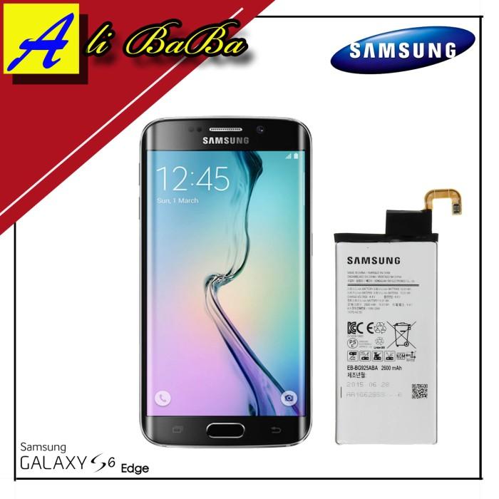 harga Baterai handphone samsung galaxy s6 edge eb-bg925aba batre hp battery Tokopedia.com