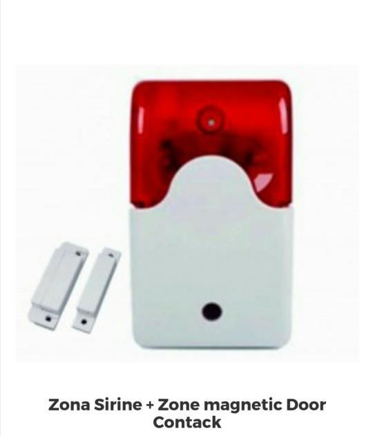 Sensor dan alarm akses pintu