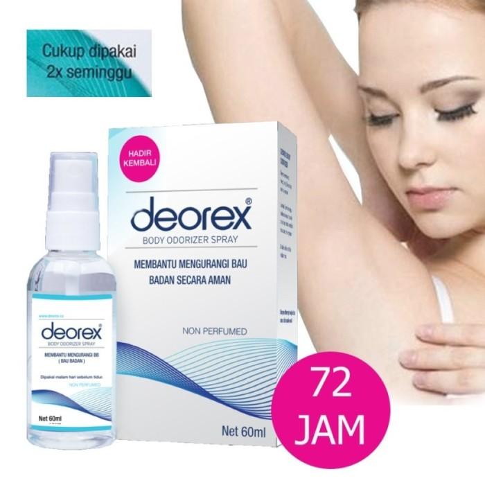 harga Deorex body spray Tokopedia.com