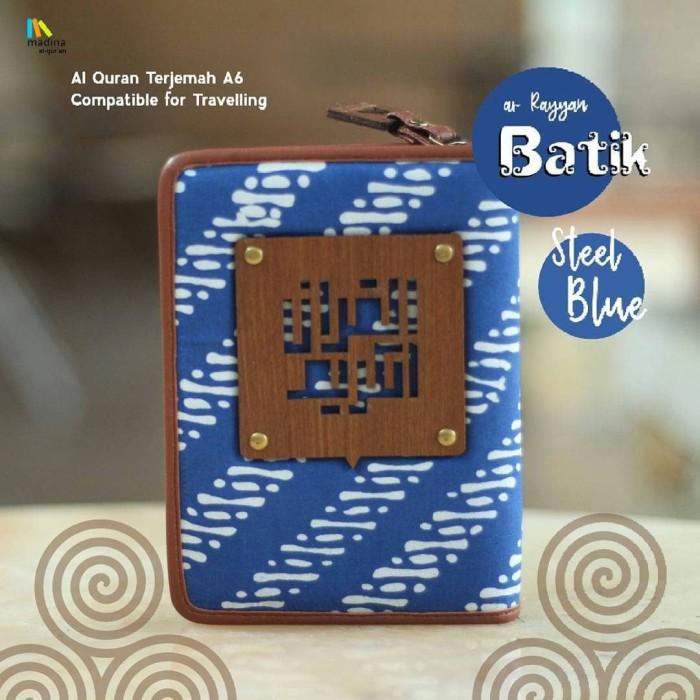 Alquran madina yan batik series al quran ar rayyan zipper .