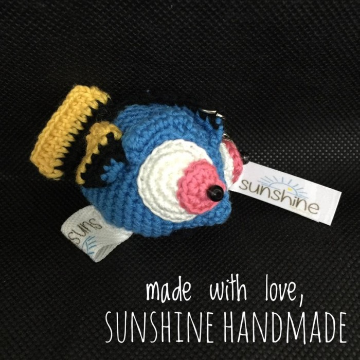 10+ Cutest Finding Dory Crochet Patterns | BeesDIY.com | 700x700