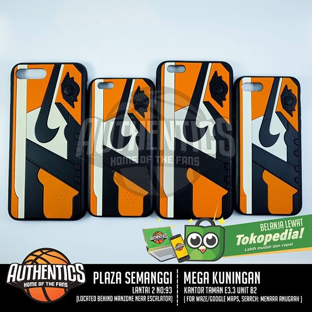 harga 3d sneakers series iphone case - aj 1 shattered backboard Tokopedia.com