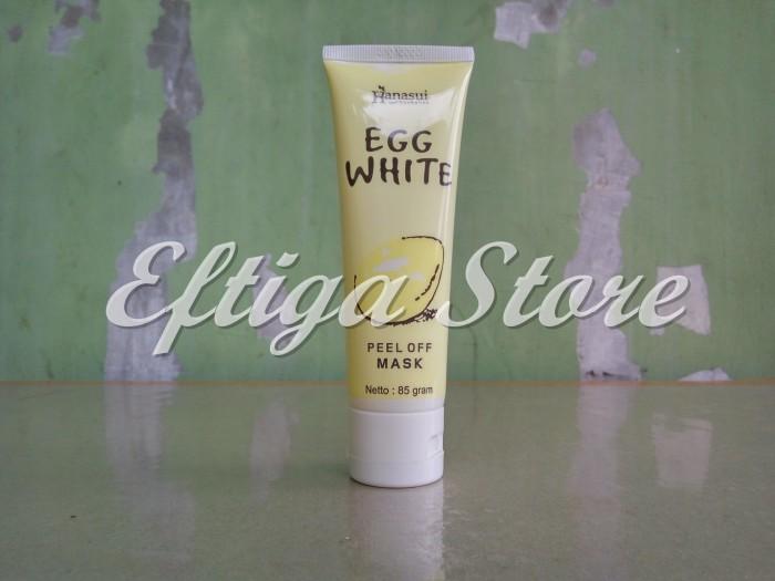 Masker Putih Telur Egg White Peel Off Mask Hanasui BPOM